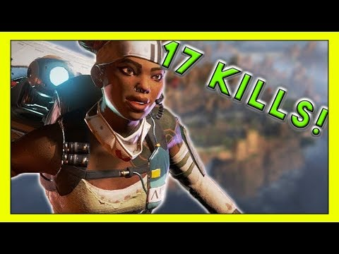 Taking Out Half The Lobby & Carrying The Team (17 kills) - Seagull - Apex Legends