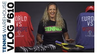 New Racquets from HEAD & Wilson + Exclusive Laver Cup Gear -- VLOG #610