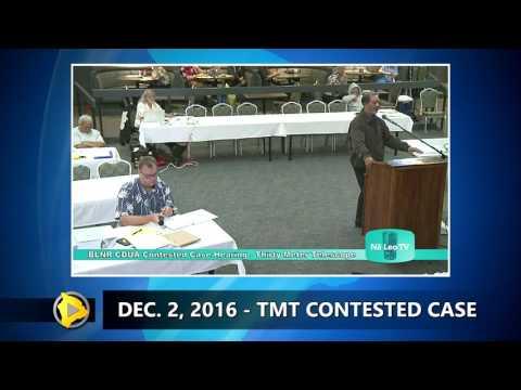 TMT Case - Judge Heen Questioned On Hawaiian Kingdom (Dec. 2, 2016)