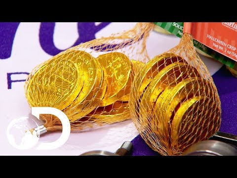 CHOCOLATE COINS   How It's Made