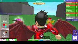 playing survive in squares in roblox