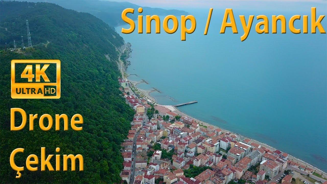 4K Sinop / Ayancık , Havadan çekim 2019