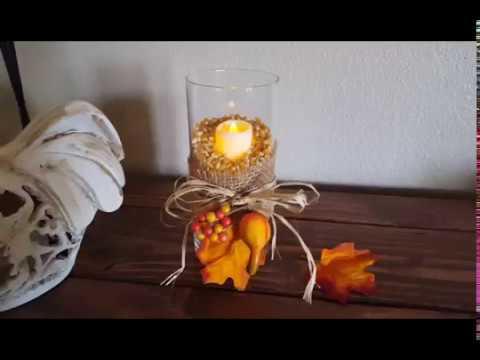 Dollar Tree fall decor DIY