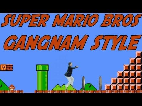 Mario Bros Gangnam Style(강남스타일)PSY(싸이)PARODY