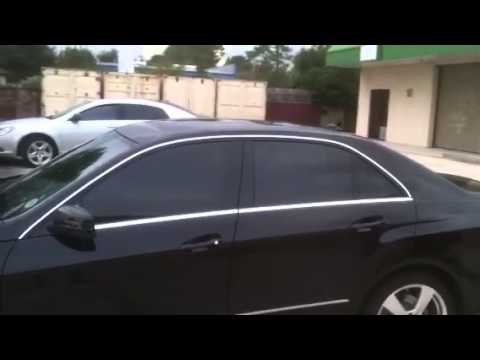 Mercedes benz e350 firehouse window tint youtube for Mercedes benz window tint
