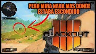 BLACKOUT: No Lo Puedo Creer Estaba Escondido En El Arbusto ||| PS4 Gameplay Español |||