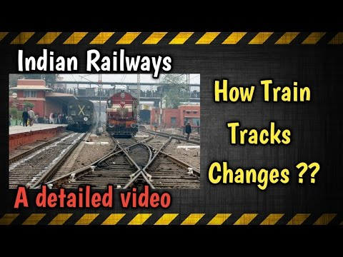 Indian Railways signalling system - How Train Tracks Changes