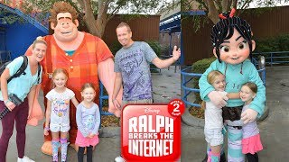 Meeting Wreck It Ralph & Vanellope In Real Life From Ralph Breaks The Internet 2!