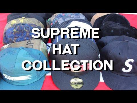 My Supreme Hat Collection - YouTube da87fbd61a1