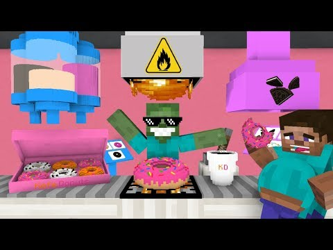 monster-school:-work-at-donut-place!---minecraft-animation