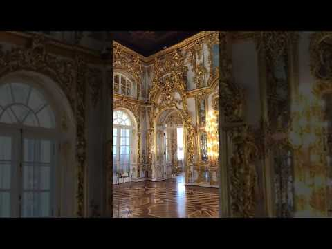 Grand Kremlin Palace Inside Tour Lavish Golden Walls and Paintings Moscow
