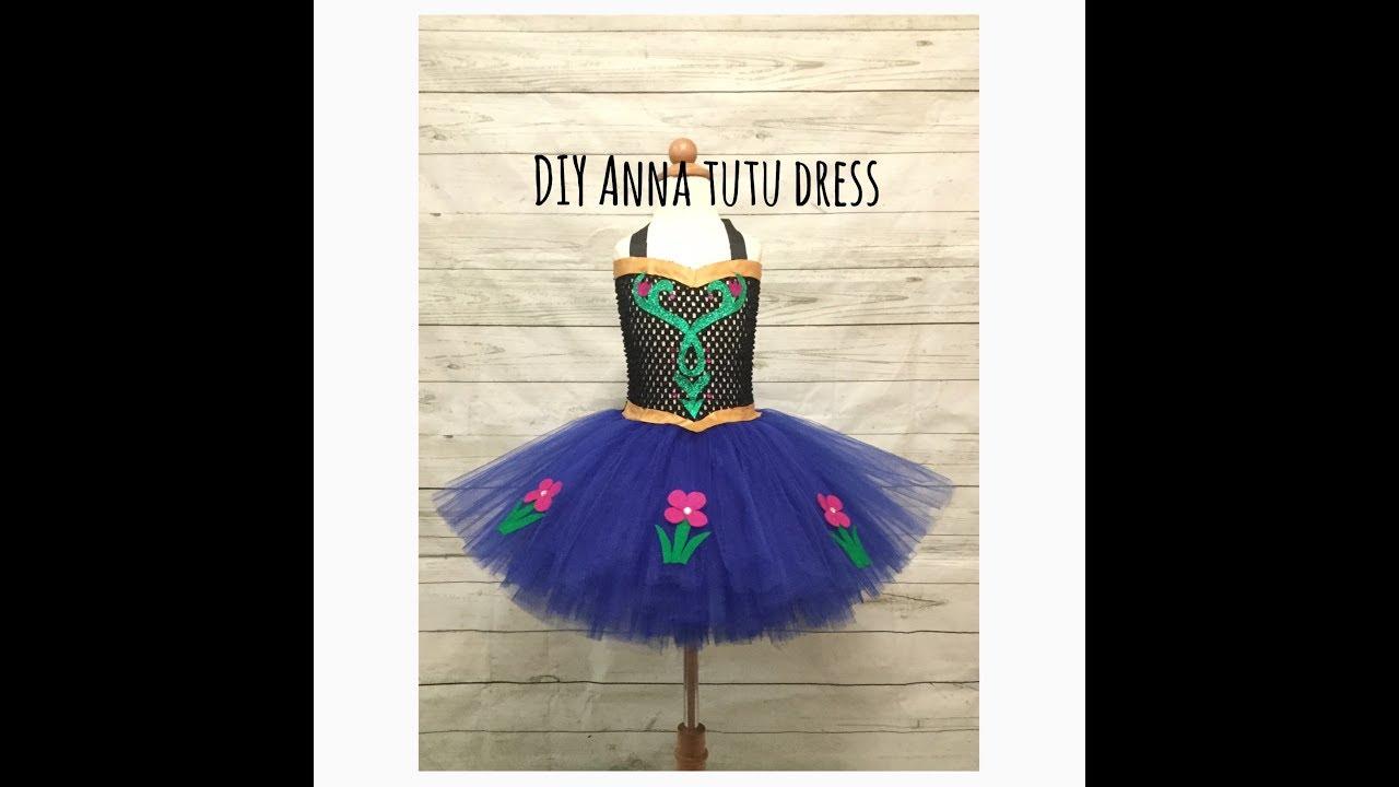 d510ad5812 Anna Inspired Tutu Dress