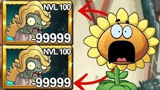 Plants Vs Zombies 2 Zombie Purpurina Nivel 100