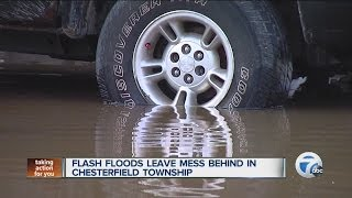 Flooding in Chesterfield Township