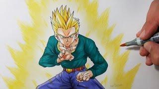 Drawing Goten Super Saiyan