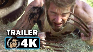 LOGAN SuperBowl TV Spot + Red Band Trailer (4K ULTRA HD) Hugh Jackman Wolverine Movie 2017