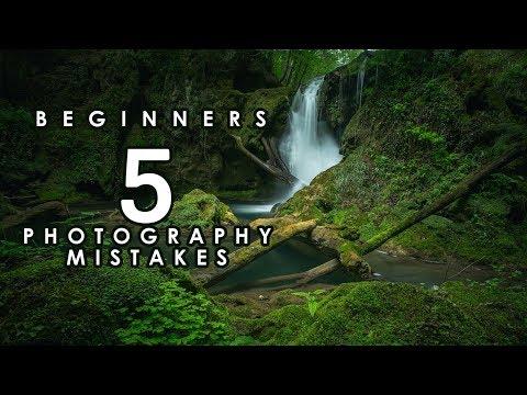 5 Mistakes Beginner Landscape Photographers Make