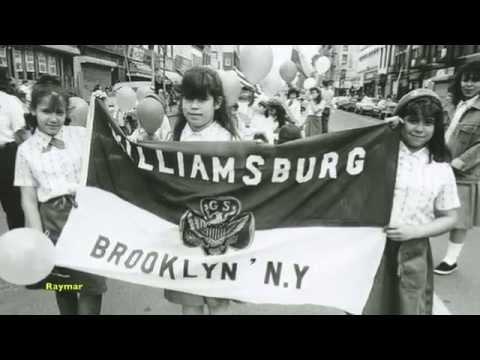 Looking back in Williamsburg Brooklyn