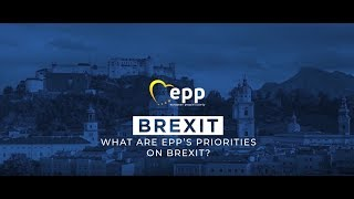 EPP Summit, 19 September 2018 - EPP's priorities on BREXIT