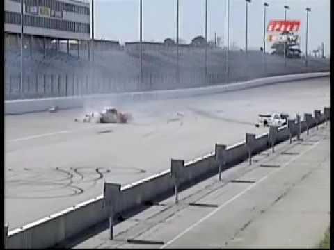 2004 Atlanta 200 Rick Crawford Hard Crash