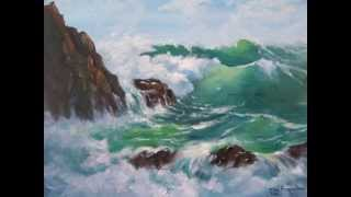 Seascapes  - oil paintings by Ita Froneman