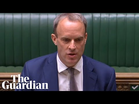 Foreign secretary Dominic Raab delivers statement on Hong Kong – watch live