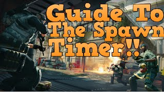 Dirty Bomb -  Guide To Utilizing The Spawn Timer!