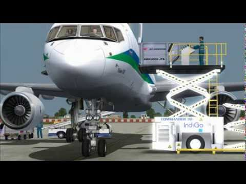 Special Delivery: Blue Dart 757-200PCF (Quality Wings) New Delhi-Varanasi (FSX)