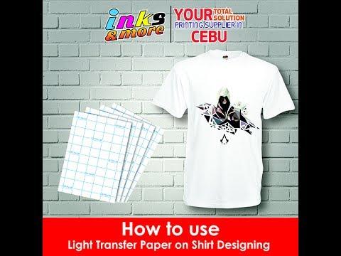 Start Your Own T Shirt Printing Business Using Heat Press Light Transfer Paper