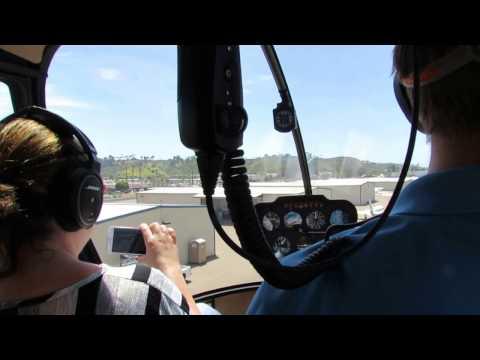Waverider Helicopter landing at Oceanside Municipal Airport