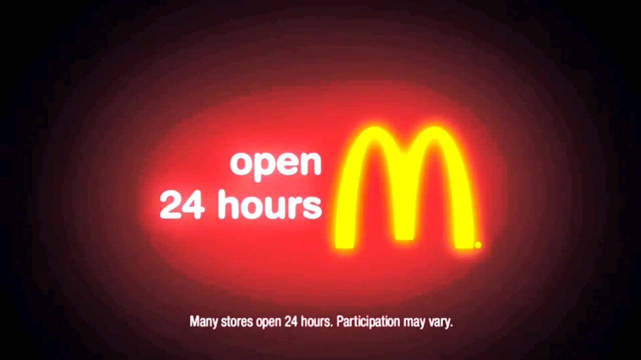 Mcdonald S Logo Motion Late Night
