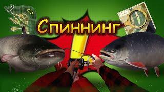 СПИННИНГ Сом на джерки Арктик на Куори Русская рыбалка 4