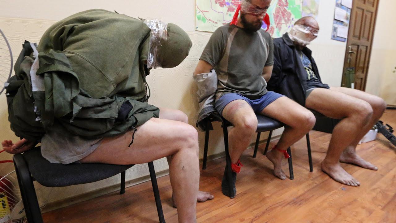 Ополченцы взяли в плен трех офицеров «Альфы»