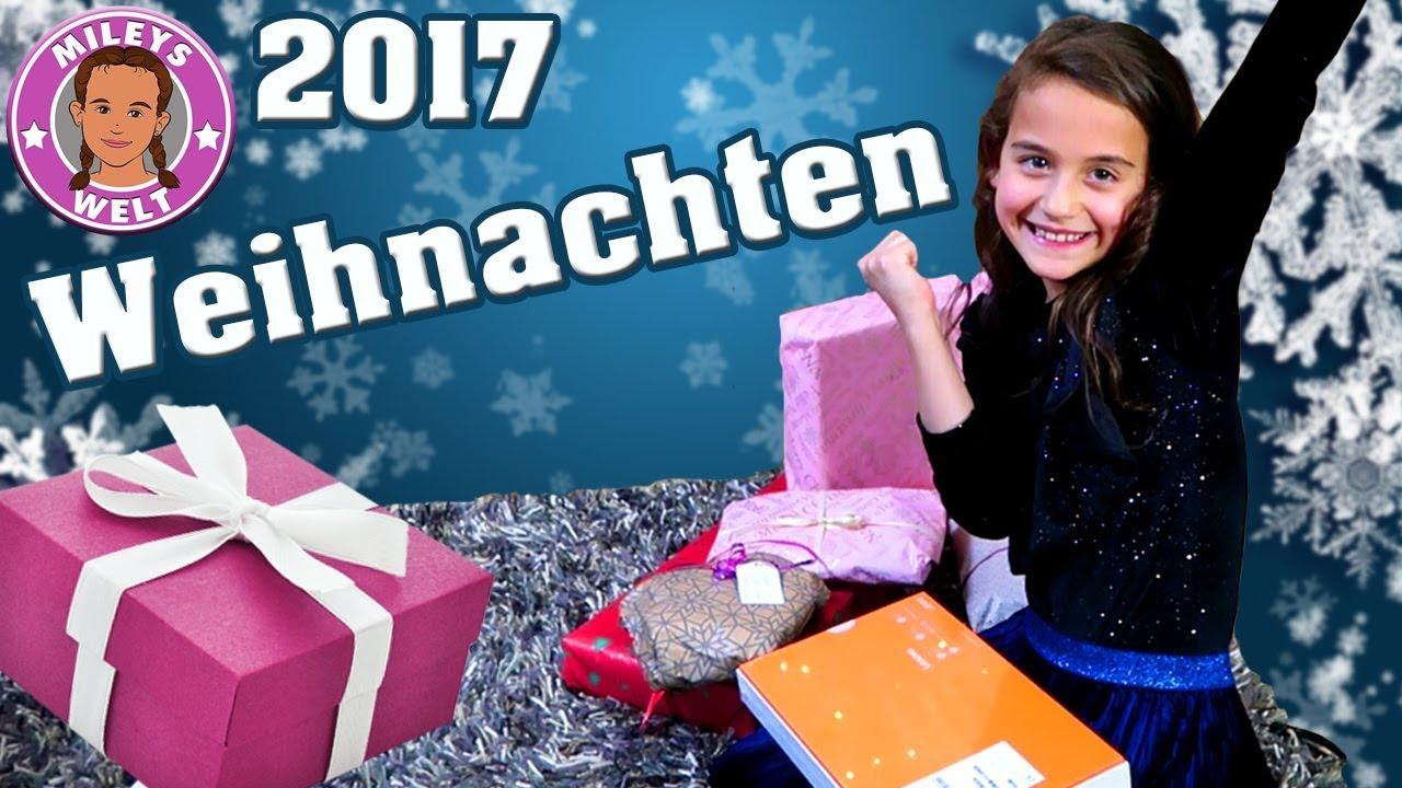 Unser Weihnachten 2017 - Bescherung mit Geschenken unterm ...