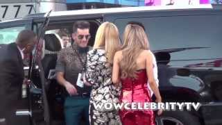 Ariana Grande and Jennette Mccurdy arrives to the 2013 American Music Awards