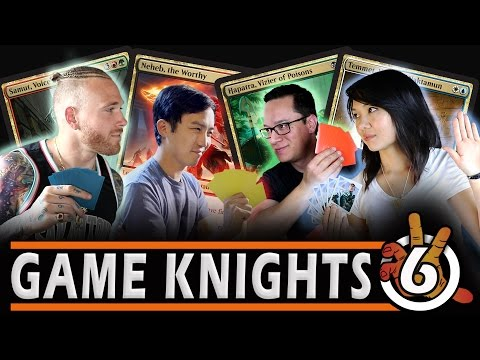 New AMONKHET Commander Gameplay with NFL Player Cassius Marsh & Mel Li | Game Knights 6 l MtG