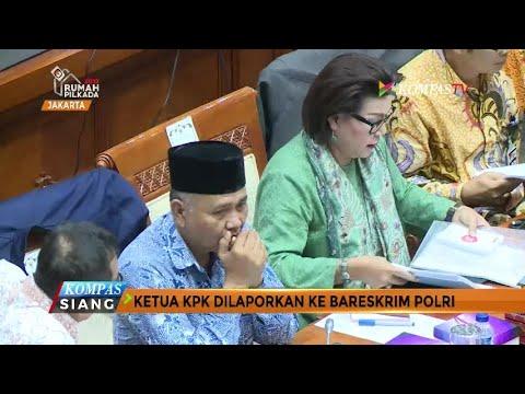 Diduga Korupsi, Ketua KPK Dilaporkan ke Bareskrim Polri