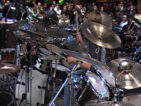 Drum Solo on the REV DRUMSET 2009
