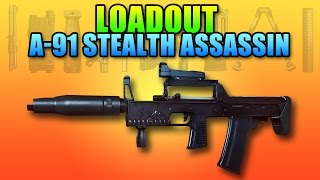 bf4 loadout a 91 stealth assassin a great silent weapon   battlefield 4 carbine gameplay