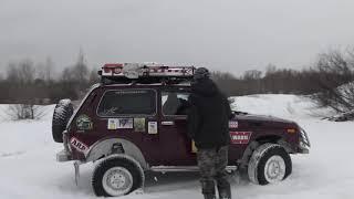 Ниссан патрол vs Нива ДР УАЗ клуба off-road 4x4
