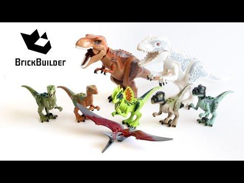 Lego Jurassic World ALL Dinos - Lego Speed Build