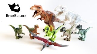 Lego Jurassic World ALL Dinos - Lego Speed Build
