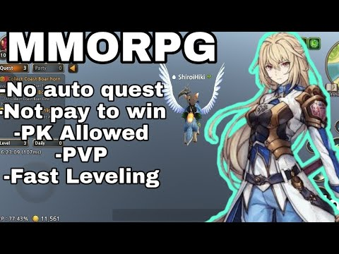 MMORPG for Android with no Auto quest and not Pay to win ...