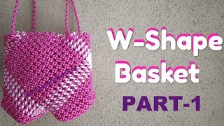 Mother's Day Special - Pink W-Shaped Basket PART-1 in Kannada | BangaloreBasket | Happy Mother's Day