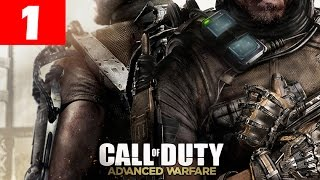 Call of Duty Advanced Warfare Walkthrough Part 1 Full Campaign Mission 1 Induction Gameplay