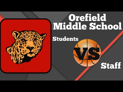 Students VS Staff Basketball Game - Orefield Middle School