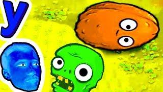 СБИВАЕМ Зомби ЧЕРЕПУШКИ! ЗОМБИ БОУЛИНГ от ПРоХоДиМЦа #334 Мультик ИГРА Детям - Растения против ЗОМБИ
