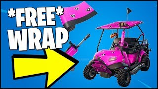 FORTNITE *EASIEST WAY* HOW TO GET A NEW WRAP FOR FREE (CUDDLE HEARTS WRAP - SUPPORT A CREATOR)