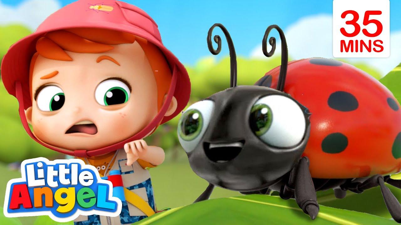 Download Bugs, Bugs, Go Away Bugs! + More | Little Angel Kids Songs & Nursery Rhymes