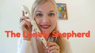 The lonely shepherd - James Last - Recorder tutorial + Sheet music